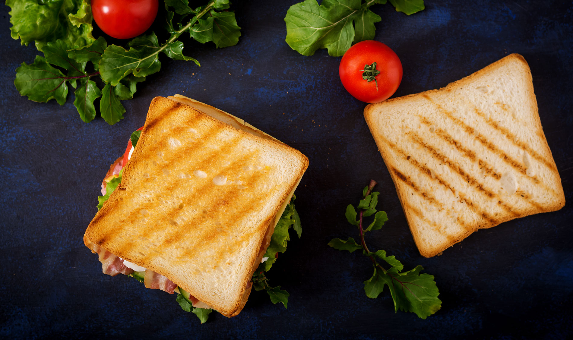 Les wraps et les sandwiches