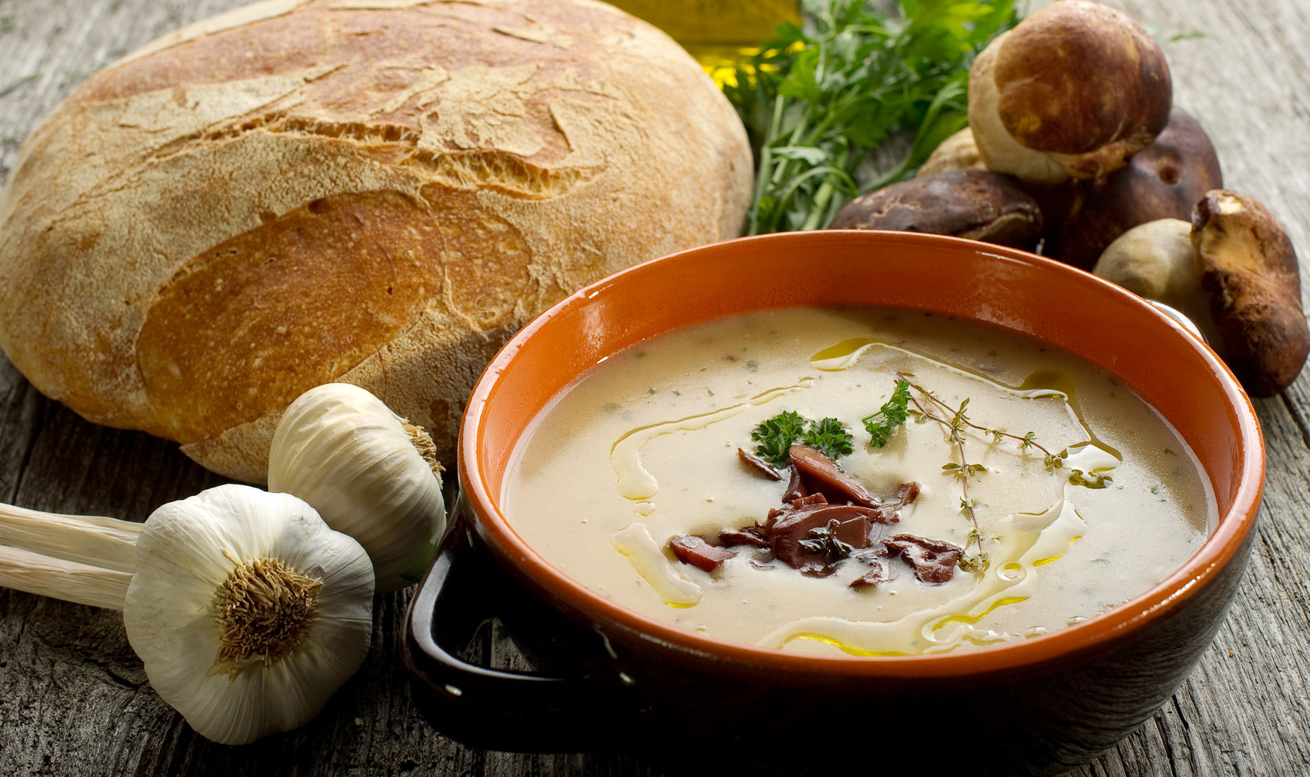 Soups and Appetizers